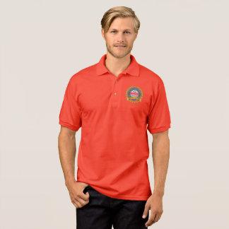 Camisa Polo 135th O pólo dos homens do aniversário