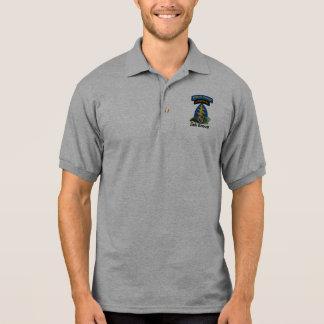 Camisa Polo 5o Veterinários das boinas verdes SFG SF do grupo