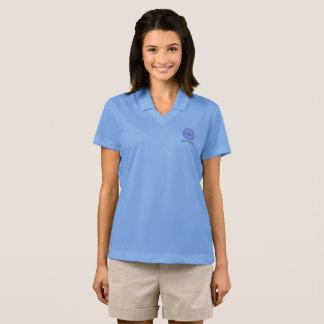 Camisa Polo A ciência do átomo da platina é para meninas