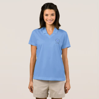 Camisa Polo A ciência do átomo de carbono é para meninas