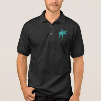 Camisa Polo Alces no fraco