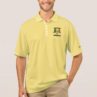 Camisa Polo Americano pelo irlandês do nascimento