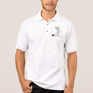 Camisa Polo Aperfeiçoe o golfe do pântano da movimentação