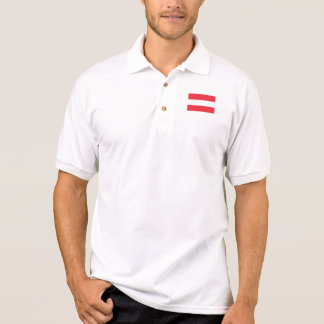 Camisa Polo Bandeira austríaca patriótica