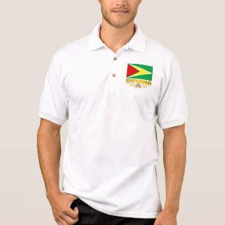 Camisa Polo Bandeira de Guyana