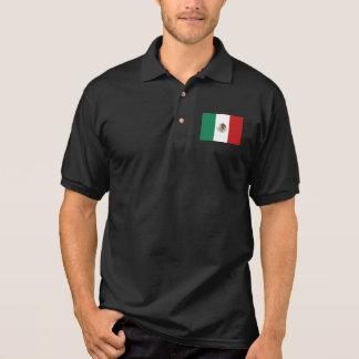 Camisa Polo Bandeira de México