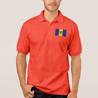Camisa Polo Bandeira do mundo de Barbados