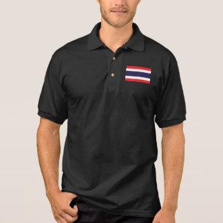 Camisa Polo Bandeira do mundo de Tailândia