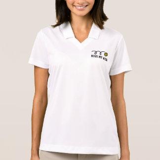 Camisa Polo Beijo do pólo | do Dri-ajustado das mulheres de