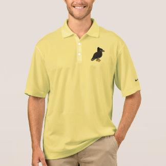 Camisa Polo Birdorable Falcão-Eagle preto
