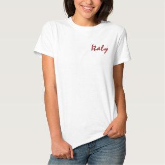Camisa Polo Bordada Camisa de Italia