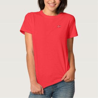 Camisa Polo Bordada T-shirt de Dansk - t-shirt dinamarquês