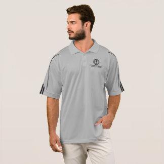 Camisa Polo Cinzas Adidas do centro do recurso do Outreach da