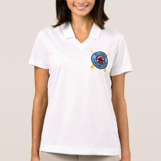Camisa Polo Clube de ondulação do St Louis das mulheres