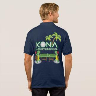 Camisa Polo Clube de ténis de mesa de Kona