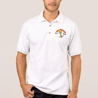Camisa Polo com logotipo -Troça A Cabeça do Pistão