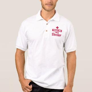 Camisa Polo Confie que eu mim é um doutor