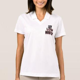 Camisa Polo Configuração baixa e pólo da convicção (mulheres)