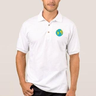 Camisa Polo Corredor de maratona que funciona Ámérica do Sul