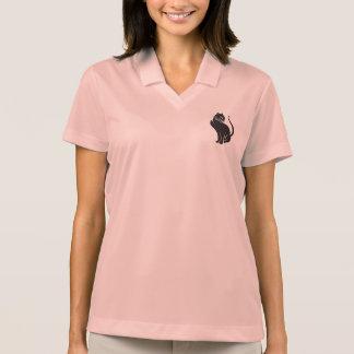 Camisa Polo Damas Shirt rosa - gato