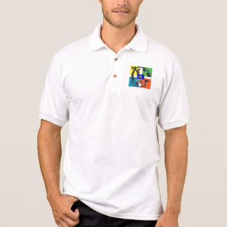 CAMISA POLO DIVISA DELAWARE GEOCACHER DO ESTADO
