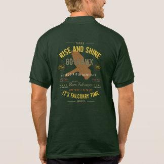 Camisa Polo É tempo da falcoaria! Goshawk