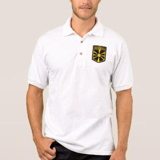 Camisa Polo Emblema de Macedónia