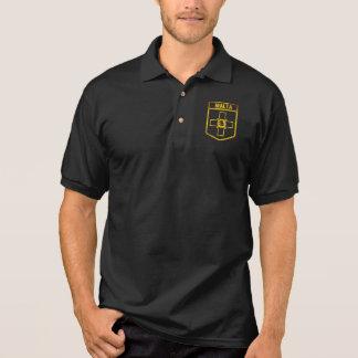 Camisa Polo Emblema de Malta