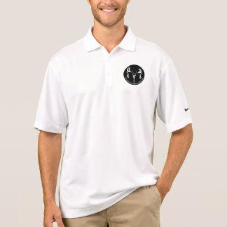Camisa Polo Engrenagem do nanovolt da equipe
