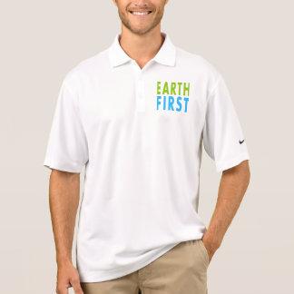 Camisa Polo Enterre primeiramente