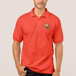 Camisa Polo Esporte Wirehaired alemão do ponteiro dele