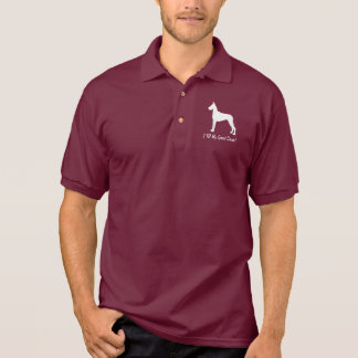 Camisa Polo Eu amo meu great dane!