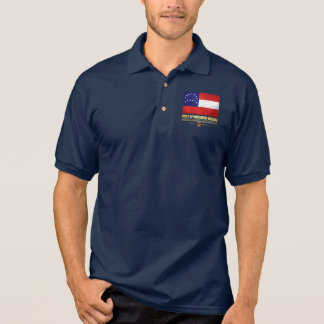 Camisa Polo Exército de Virgínia do norte (F10)
