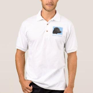 Camisa Polo Labrador retriever (preto)