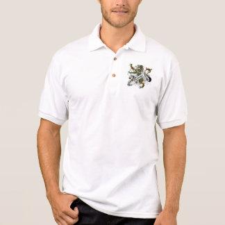 Camisa Polo Leão do Tartan de Thomson