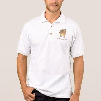 Camisa Polo Logotipo feito sob encomenda, pato, pássaro -