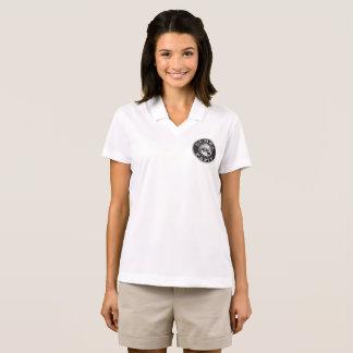 Camisa Polo Logotipo pequeno do VINHO de Gumba no preto na