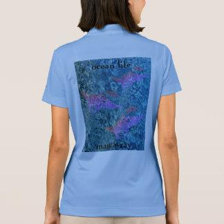 Camisa Polo Manta-raios da VIDA do OCEANO