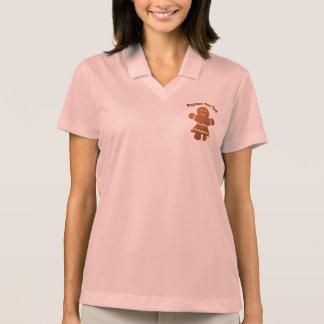 Camisa Polo Menina bonito do pão-de-espécie