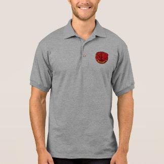 Camisa Polo Meu pólo do treinador do encaixotamento