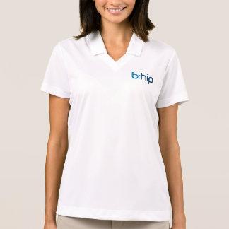Camisa Polo O b das mulheres: pólo anca do Dri-AJUSTADO