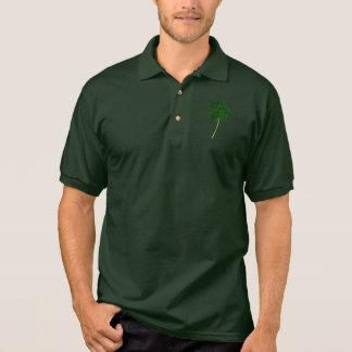 Camisa Polo O dia de St Patrick feliz! Trevo do irlandês do