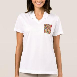 Camisa Polo O Hoddies. artístico das mulheres