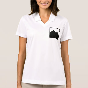 Camisa Polo O pólo das mulheres da mercadoria do negócio