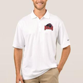 Camisa Polo O pólo do treinador de Brahmas Nike do vale de