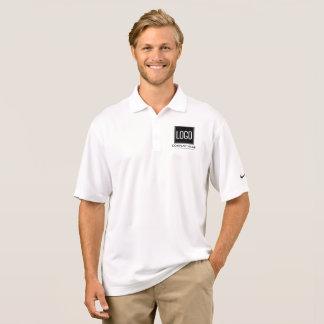 Camisa Polo O uniforme | da empresa de negócio adiciona seu