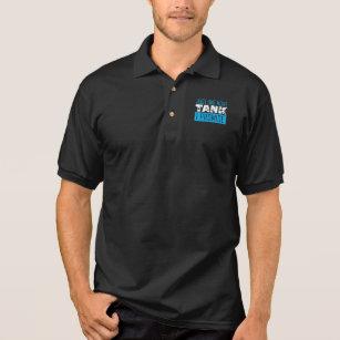 Camisa Polo Peixes do aquário que mantêm apenas um mais tanque 5daf2092a1559