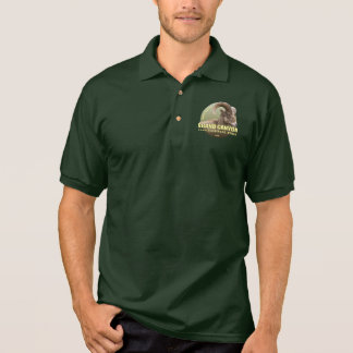 Camisa Polo PESO do NP do Grand Canyon (veado selvagem)