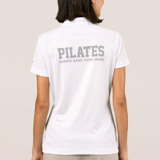 Camisa Polo Pilates mais fácil disse do que feito