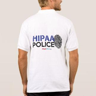 Camisa Polo Polícia de HIPAA